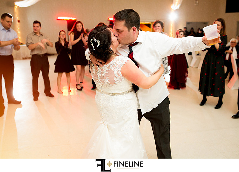 St. John Cathedral Center in Munhall, PA photo by FINELINE Weddings Greensburg, PA