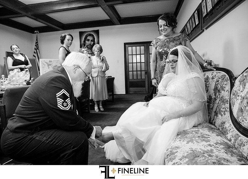 father of the bride photo by FINELINE Weddings Greensburg, PA