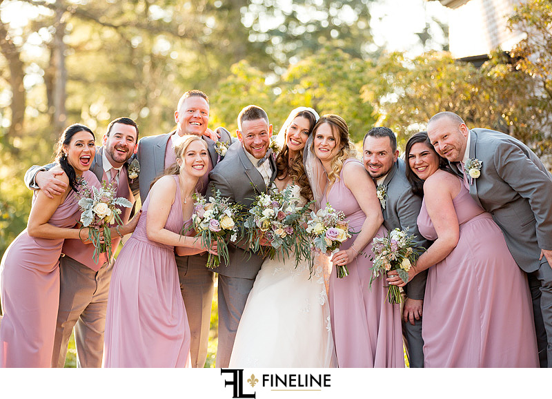 Bridal Party photo by FINELINE Weddings Greensburg, PA