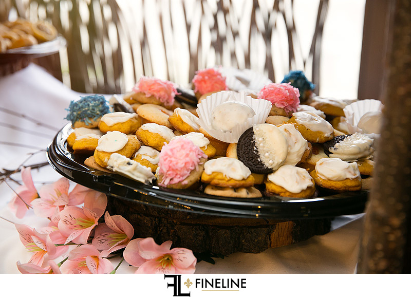 Pittsburgh Cookie Table Murphy Hall Wedding Reception photo by FINELINE Weddings Greensburg, PA