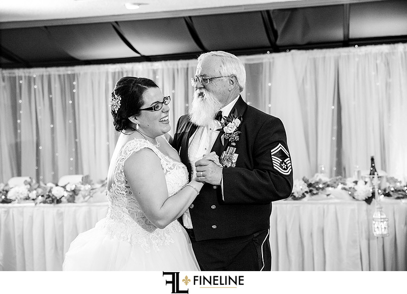 Murphy Hall Wedding Reception photo by FINELINE Weddings Greensburg, PA